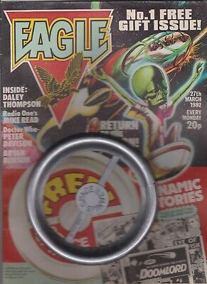 EAGLE  No.1  WITH  FREE  GIFT  SPACE  SPINNER...1982.