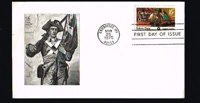 1975 - USA Card FDC - Famous People - Salem Poor [BY005]