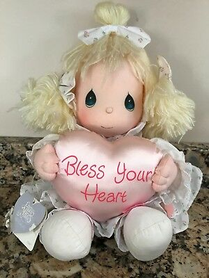 "Vintage Precious Moments Terri Bless Your Heart Doll Applause 14"" #5488"
