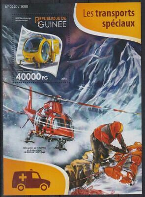 W611. Guinea - MNH - 2015 - Transport - Recovery - Bl.