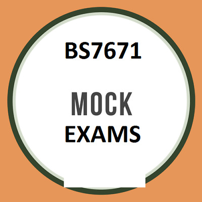 5x 18th Edition BS7671 2018 Mock Exams 240 Q&A's in PDF plus reference material