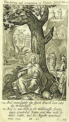 1611 King James Bible Text 1669 Ed. With F. Van Hove's The Temptation Of Christ