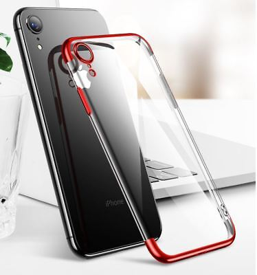 Case for Apple iPhone XS MAX XR 8 7 6S Cover Shockproof Clear Luxury Silicone UK