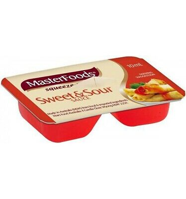 Masterfoods Sweet And Sour Sauce Portions 10gm x 100