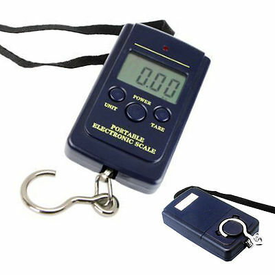 40kg 10g Electronic Hanging Fishing Pocket Portable Digital Weight Scale New SY1