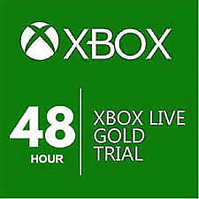 Xbox Live 2 Days 48 Hours Trial Membership Code Xbox One Only (Region Free)