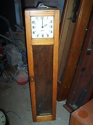 Gents Of Leicester Master Clock With Dial..