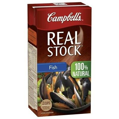 Campbell's Real Fish Stock 500mL