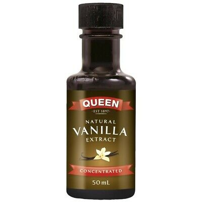 Queen Natural Vanilla Concentrated Extract 50mL