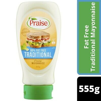 Praise 99% Fat Free Traditional Mayonnaise 555g