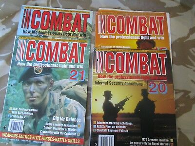 COMBAT AND SURVIVAL army MAGAZINE military book IRA kit skills ISSUES X4