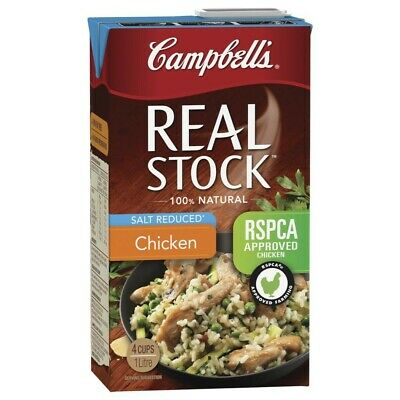 Campbell's Real Salt Reduced Chicken  Stock 1L
