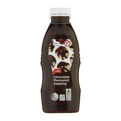Coles Chocolate Topping 600mL