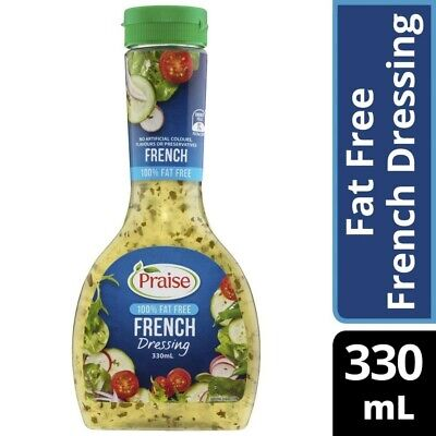 Praise French Dressing Fat Free 330mL