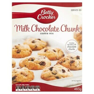 Betty Crocker Milk Chocolate Chunk Cookie Mix 485g