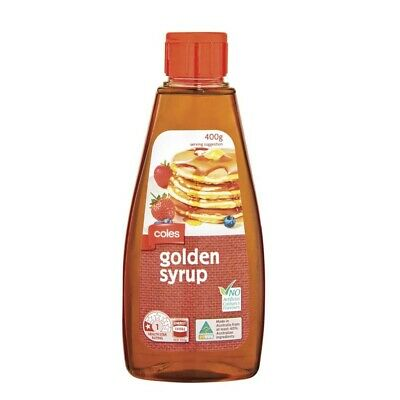 Coles Golden Syrup Squeeze Pack 400g