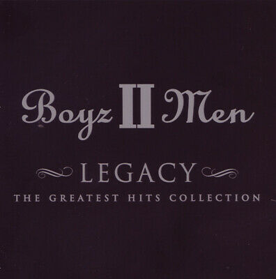 Boyz II 2 Men Legacy The Greatest Hits Collection 15 Trk CD Album Very Best Of