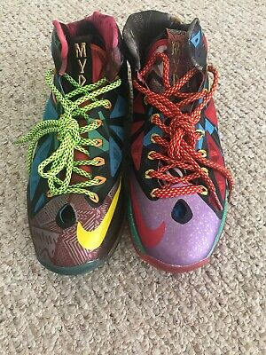 d826b704a2a26 NIKE 10 LEBRON X WHAT THE MVP 2013 EXTREMELY LIMITED 583108--500 Size 8.5