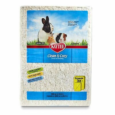 Kaytee Clean and Cozy WHITE Super Absorbent Paper Bedding, Small, 49.2 Litre