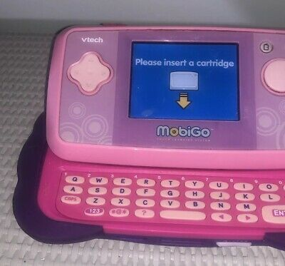 Mobigo 2 Vtech Learning System Pink And Purple Handheld Console