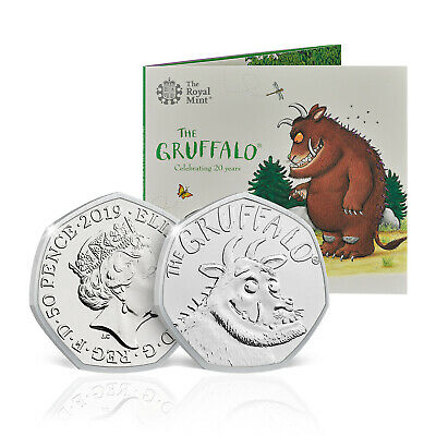 The Gruffalo Brilliant Uncirculated 50p Fifty Pence Coin