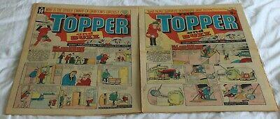 2  TOPPER and  BUZZ  COMICS..1975...JAN  25th + FEB 1st..VERY  NICE  CONDITION