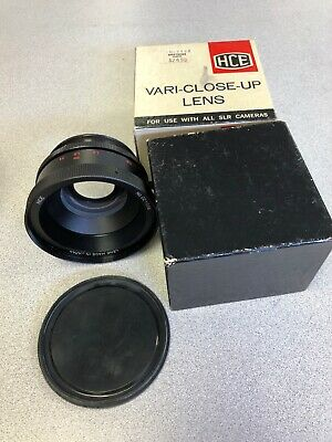 HCE Vari-Close-Up Auxiliary Lens, SLR Cameras, Still has original box and case