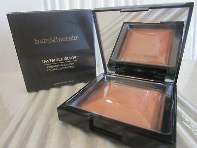 Bareminerals Invisible Glow Powder Highlighter Tan 0.24 Oz Boxed Read Details