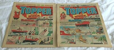 2  TOPPER and  BUZZ  COMICS..1975...MAR 22nd + 29th....VERY  NICE  CONDITION