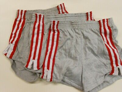 "LOT 3 Pair NOS '70's-'80's Youth Gym/Team/Workout Shorts. XS. 23""-25"" Waist"