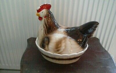 Vintage chicken egg holder.