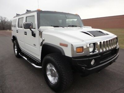 2005 Hummer H2 SUV 2005 HUMMER H2 LUX SERIES PKG NAV SUNROOF HEATED SEATS BOSE SOUND CLEAN CARFAX