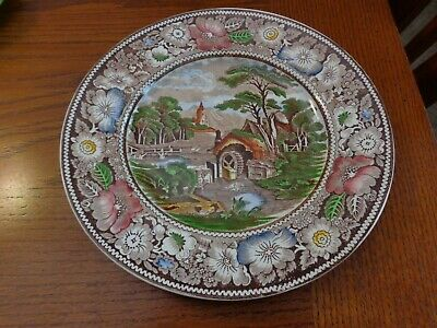 Dinner Plate Rural England Brown Multicolor By Midwinter Ltd Wr
