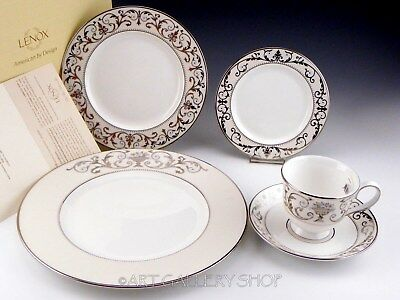 NEW Lenox AUTUMN LEGACY 5 PC PLACE SETTING DINNER SALAD BREAD PLATE CUP & SAUCER