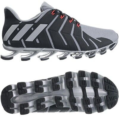 wholesale dealer 2ffb6 5e327 ADIDAS SPRINGBLADE PRO M grey black Men's running shoes jogging trainers NEW