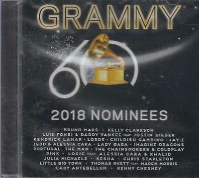 NEW - 2018 Grammy Nominees CD Various Artists SHIPS NOW !