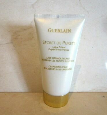 Guerlain Secret De Purete Crystal Lotus Flower Cleansing Milk 17 Oz
