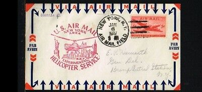 [ER023] 1947 - USA Flight cover - Transport - Helicopters - Experimental Helicop