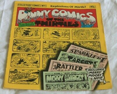 PENNY  COMICS of the THIRTIES....A  DENNIS  GIFFORD  COLLECTION