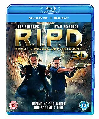 New & Sealed R.I.P.D. Rest in Peace Department 3D Blu-ray + UV Ultraviolet RIPD