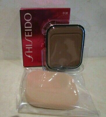 Shiseido Sheer Matifying Compact (Refill) # D30 Very Rich Brown .34 Oz Boxed