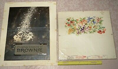 Original Large Fruit Painting & Rust Craft Brownie Cover Production Print SALE