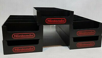 Nintendo Nes M17G Game Boy Snes N64 Rare Plastic Holder Display Store Stand