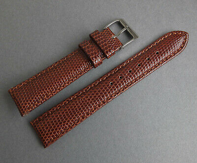 NOS IW SUISSE Brown Lizard Calf 18mm Watch Strap for Vintage or Modern Watch