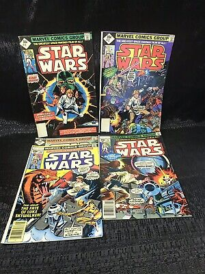Star Wars Lot (1977/8) 1,2,3,5 And 11, Darth Vader Luke Skywalker