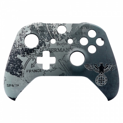 Custom Xbox One S Controller Front Shell Faceplate Replacement COD Eagle Map