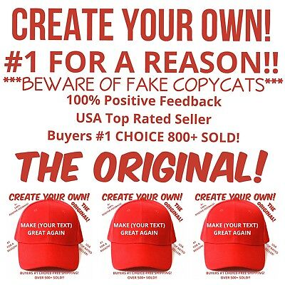 Customized MAKE AMERICA GREAT AGAIN HAT Trump Inspired PARODY FUNNY EMBROIDERED