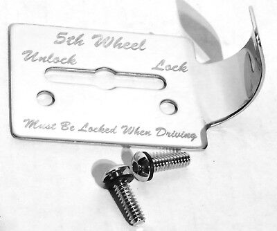 guarded switch plate 5th wheel fifth wheel stainless steel for Peterbilt 359