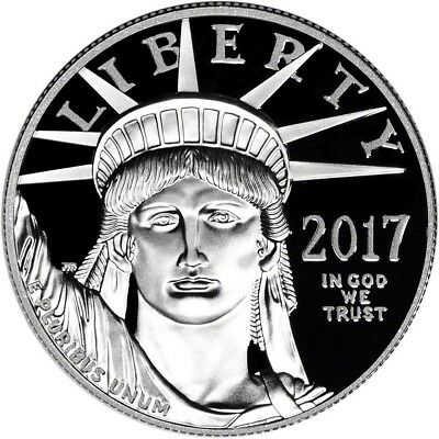 2017-W American Platinum Eagle Proof (1 oz) $100 - PCGS PR69 - First Strike
