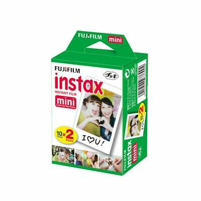Fuji Instax Mini Instant Film Twin Pack (20) for Fujifilm 9 8 7S 50S 25 Camera